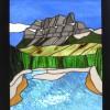 Castle Mountain & Bow River